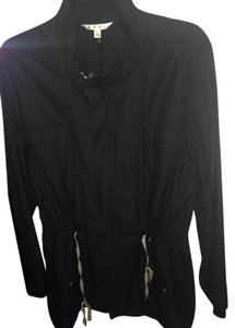 CAbi Washed Black Jacket
