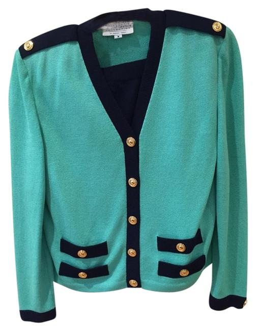 Preload https://item3.tradesy.com/images/st-john-sea-green-with-navy-trim-solid-navy-skirt-two-piece-knit-suit-size-8-m-5386702-0-0.jpg?width=400&height=650
