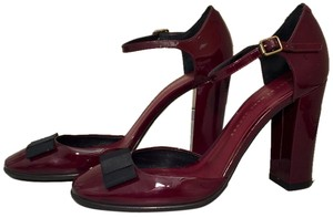 Marc by Marc Jacobs Patent Leather Party Raspberry Pumps