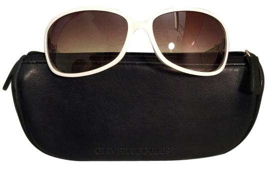 Oliver Peoples Oliver Peoples Sunglasses: Style BB, China White (CHW)
