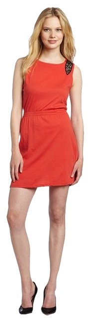 Pencey short dress Red on Tradesy