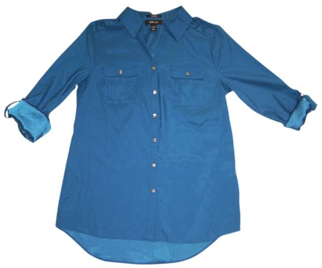 Style & Co Shirt Top blue