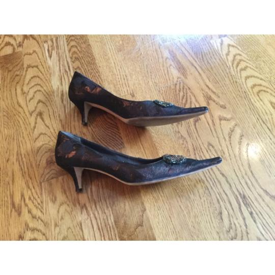 Bettye Muller Brown Pumps