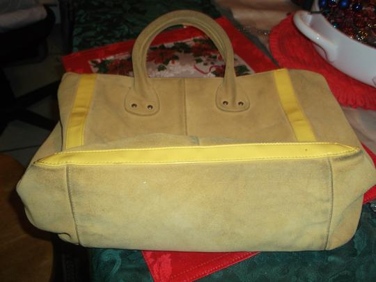 Gap Handbag Purse Shopping Tote in Yellow