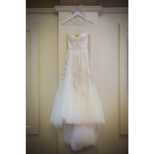 c77020c8761d Reem Acra Ivory Tulle and Lace Heavenly Formal Wedding Dress Size 0 (XS)