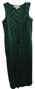 Green/Navy Maxi Dress by Michael Kors