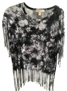 Michael Kors T Shirt Tie Dye Black/White
