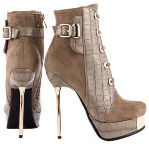 Luichiny Ankle Boot Bootie Stiletto taupe Boots