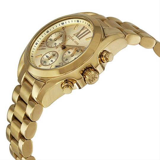 Michael Kors Gold tone Classic Casual Stainless Steel Designer Ladies Watch
