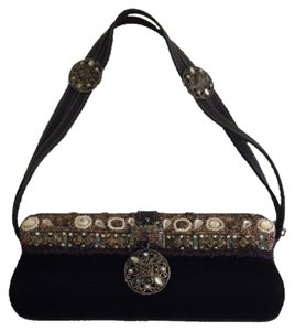 Mary Frances Chocolat Clutch