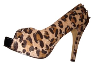 Abbey Dawn by Avril Lavigne LEOPARD AND STUDS Platforms