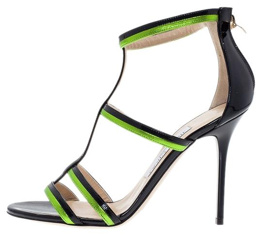 Preload https://item1.tradesy.com/images/jimmy-choo-blackgreen-new-thistle-leather-sandals-size-us-10-5390140-0-0.jpg?width=440&height=440