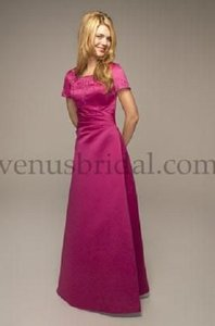 Venus Bridal Fuschia Temple Maids D929 Dress