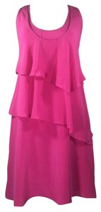 Jonesy #asymmetrical #ruffle #tiered #silkdress #racerbackdress Dress