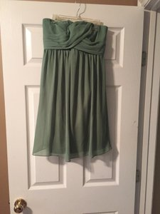 Bill Levkoff Green Dress