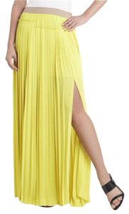 BCBGMAXAZRIA Maxi Skirt Yellow
