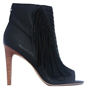 JOE'S Ankle Boot Fringe Bootie black Boots