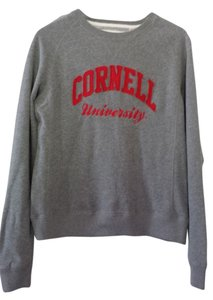 Cornell University Apparel Crew Neck College Spirit Collegiate Big Red Bear Sweatshirt