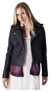 American Eagle Outfitters Blac Leather Jacket