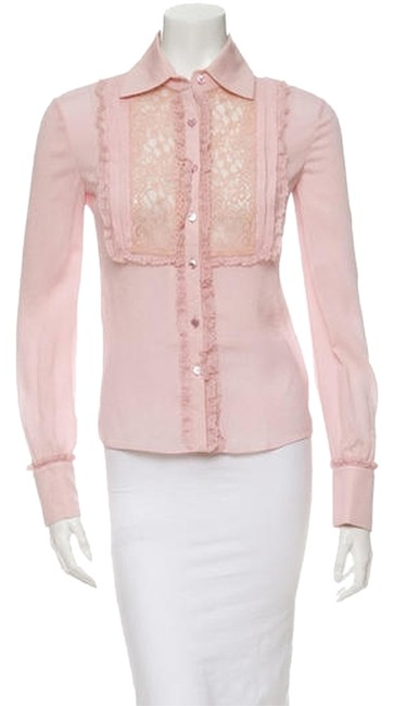 Preload https://item5.tradesy.com/images/valentino-pink-silk-with-sheer-lace-blouse-size-2-xs-5390599-0-0.jpg?width=400&height=650
