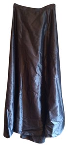 Express Maxi Skirt Gunmetal, gray, charcoal