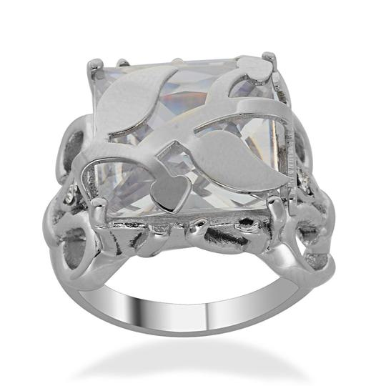 Other Leaf Design in Stainless Steel Size 6