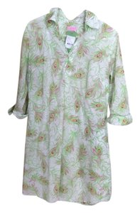 Lilly Pulitzer short dress Greens and pinks on Tradesy