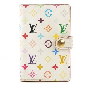 Louis Vuitton Discontinued Louis Vuitton Multicolor Carnet de Bal Mini Agenda White