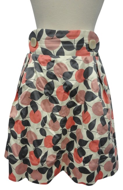 Item - Pink Gray Dotted Arbor Anthropologie Skirt Size 4 (S, 27)