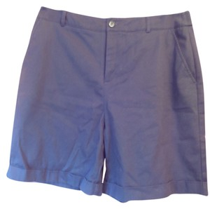 Croft & Barrow Cuffed Cuffed Shorts Black