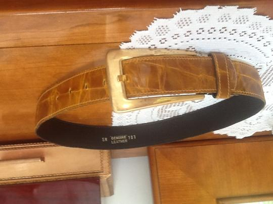 Genuine Leather, Mustard SM belt Genuine Leather 1.5
