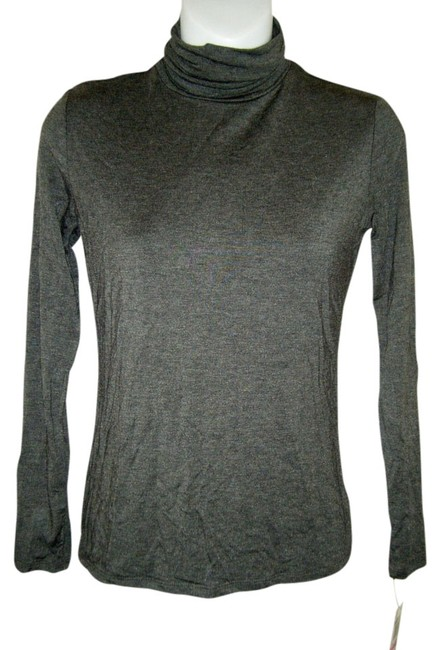 Preload https://item2.tradesy.com/images/style-and-co-charcoal-heather-pp-by-ruched-turtleneck-gray-so-soft-stretch-tee-shirt-size-petite-4-s-539191-0-0.jpg?width=400&height=650