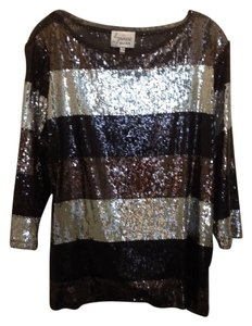 Lynn Ritchie Top Black/Silver