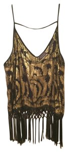 ASTR Top Black, Gold