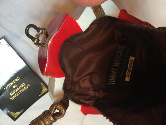 Timmy Woods Of Beverly Hills Celebrity Collector Hand Nutcracker Whimsical Hand Carved Man Hand Talkingfashion Parladimoda Cross Body Bag