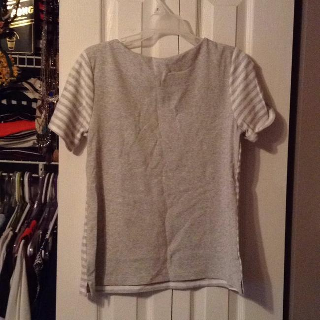 Old Navy T Shirt White Grey