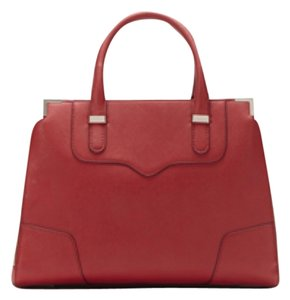 Rebecca Minkoff Red Satchel in Crimson