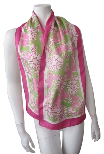 Lilly Pulitzer Lilly Pulitzer scarf 100% Silk Long 57