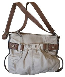 Tignanello Cream Cross Body Bag