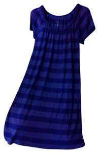 It's a Purple instead of showing up Blue Maxi Dress by Faded Glory