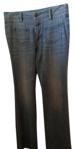 CAbi Trouser/Wide Leg Jeans-Light Wash