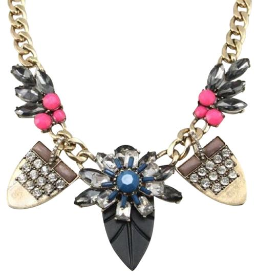 Preload https://item2.tradesy.com/images/multicolor-bold-art-deco-necklace-539476-0-0.jpg?width=440&height=440