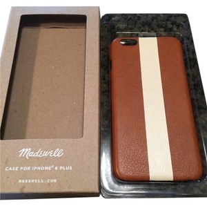 Madewell leather case for iphone 6 plus in paintstripe