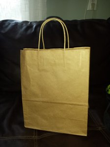 80 Brown Kraft Paper Bags