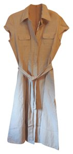 New York & Company Linen Rayon With Tags Dress