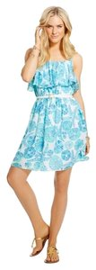 Lilly Pulitzer short dress Sea Urchin Flounce Summer on Tradesy