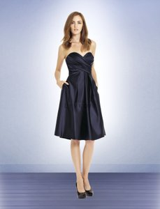 Bill Levkoff Navy 586 Dress