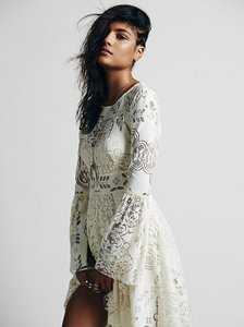 Free People Bohemian Stunning Cream Dress