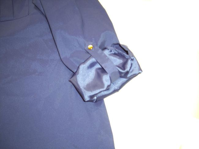JM Collection Imported Point Collar Button Front Long Sleeves Roll Tabs Button Down Shirt Dark Purple