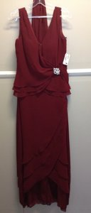 Cameron Blake Dark Red 117216 Dress